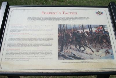 Forrest's Tactics Marker image. Click for full size.