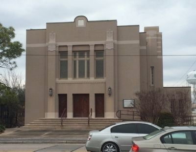 Current Temple on Palafox Street image. Click for full size.