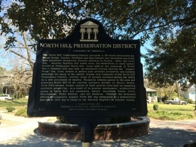 North Hill Preservation District Marker image. Click for full size.