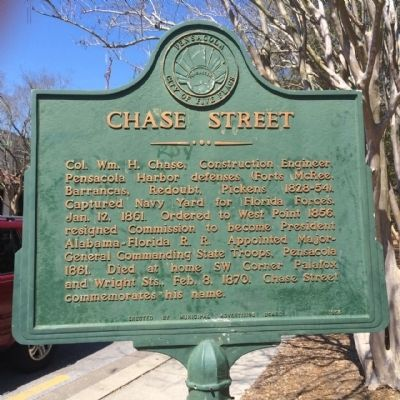 Chase Street Marker image. Click for full size.