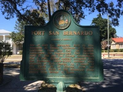 Fort San Bernardo Marker image. Click for full size.