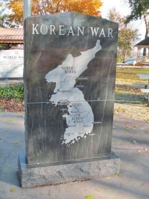 Korean War Memorial image. Click for full size.