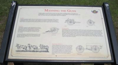 Manning the Guns Marker image. Click for full size.