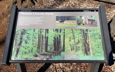 Thomas Lincoln Farm Marker image. Click for full size.