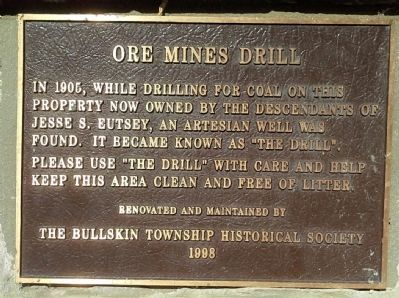 Ore Mines Drill Marker image. Click for full size.