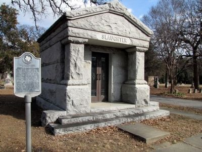 Slaughter Mausoleum image. Click for full size.