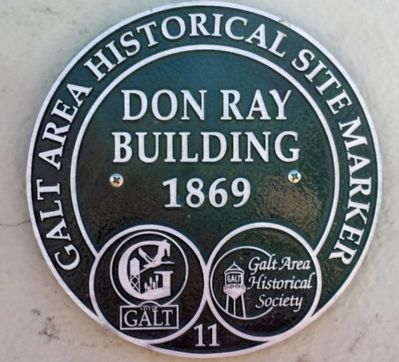 Don Ray Building Marker image. Click for full size.