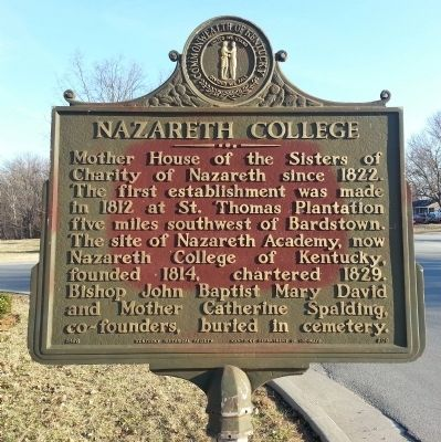 Nazareth College Marker image. Click for full size.