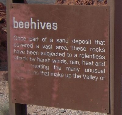 Beehives Marker image. Click for full size.