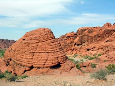 A Beehive Rock near the Marker image. Click for full size.