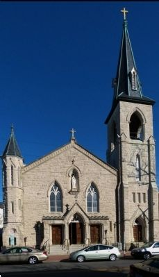 Saint Mary's Catholic Church image. Click for full size.