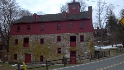 The Newlin Grist Mill image. Click for full size.