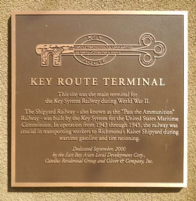 Key Route Terminal Marker image. Click for full size.