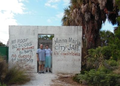 Anna Maria Historic City Jail Remains image. Click for full size.