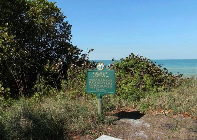 Wide view of the Passage Key Marker image. Click for full size.