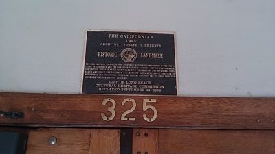 The Californian Marker image. Click for full size.