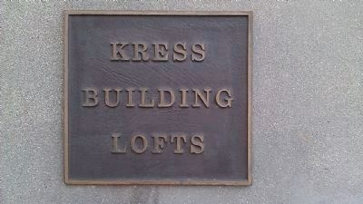 Kress Building Lofts image. Click for full size.