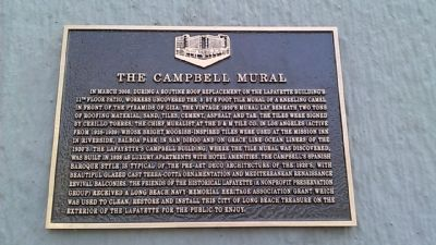 The Campbell Mural Marker image. Click for full size.