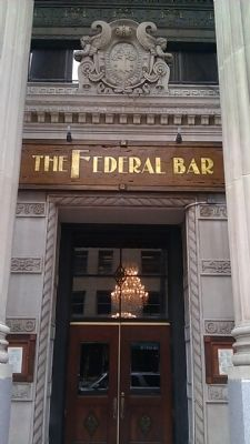 The Federal Bar image. Click for full size.