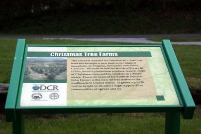 Christmas Tree Farms Marker image. Click for full size.