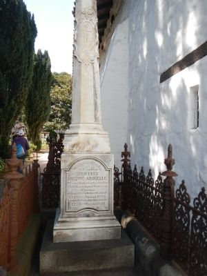 The Grave of Luis Antonio Arguello, 1st Governor of California image. Click for full size.