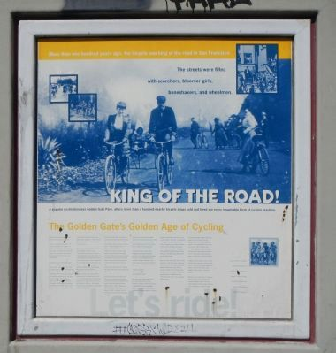 King of the Road! Marker image. Click for full size.