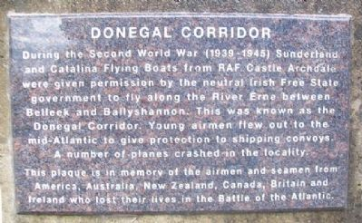 Donegal Corridor Marker image. Click for full size.