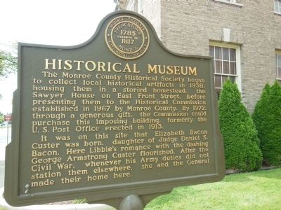 Historical Museum Marker image. Click for full size.