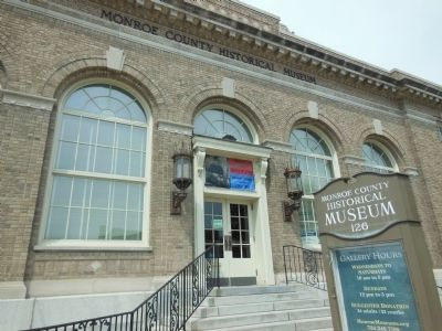 Monroe County Historical Museum image. Click for full size.