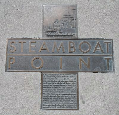 Steamboat Point Marker image. Click for full size.