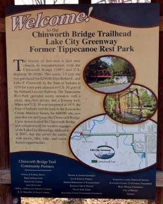 Chinworth Bridge Trailhead Marker image. Click for full size.