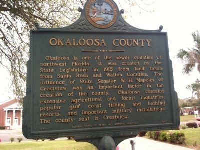 Okaloosa County Marker image. Click for full size.