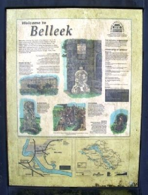Welcome to Belleek Marker image. Click for full size.