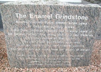 The Enamel Grindstone Marker image. Click for full size.