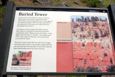 Buried Tower Marker image. Click for full size.