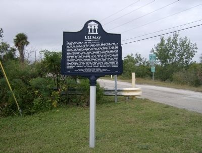 Ulumay Marker (<i>wide view</i>) image. Click for full size.