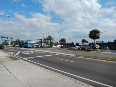 Florida Highway 520 (<i>as viewed from the marker</i>) image. Click for full size.