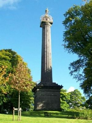 Cole's Monument at Forthill Park image. Click for full size.