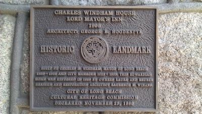 Charles Windham House (Lord Mayor's Inn) Marker image. Click for full size.