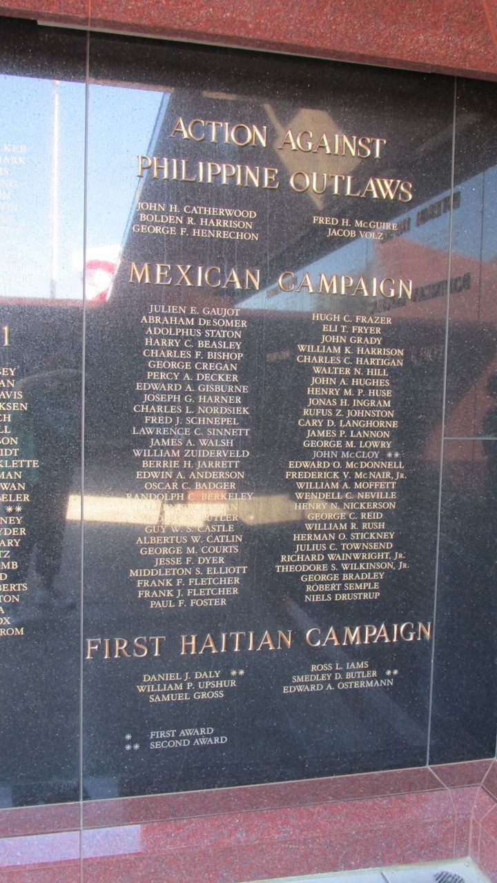 Action Against Philippine Outlaws, Mexican Campaign, First Haitian Campaign Panels