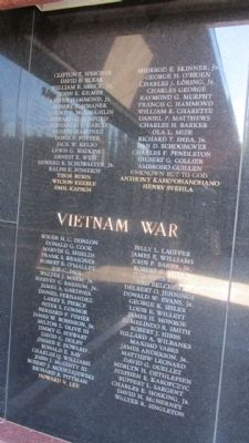 Vietnam War Panels image. Click for full size.