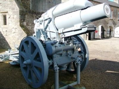 German 21cm Mortar, 1918 image. Click for full size.