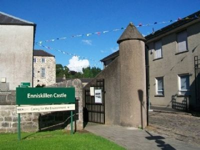 Enniskillen Castle Museums Entrance image. Click for full size.
