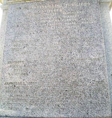 South Africa War Memorial Honored Dead image. Click for full size.