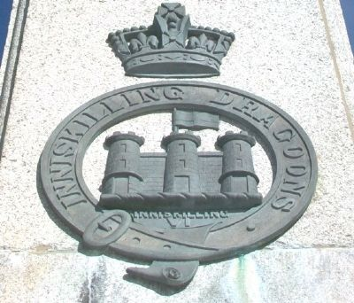 South Africa War Memorial Insignia image. Click for full size.