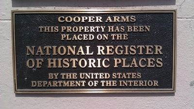 Cooper Arms Marker image. Click for full size.
