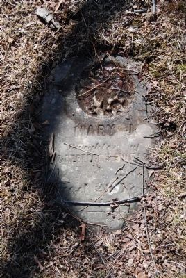 Mary (Swearingen) Colvin grave image. Click for full size.