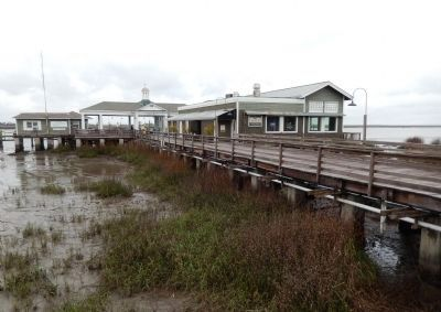 Jekyll Island Club Wharf & Pier (<i>wide view</i>) image. Click for full size.