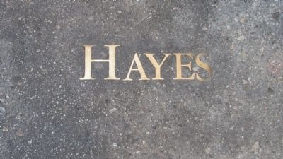 Hayes Alley Marker image. Click for full size.