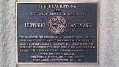 The Blackstone Marker image. Click for full size.